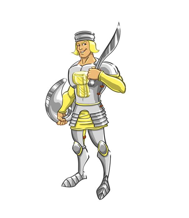 Dessin personnage Cartoon - Prince