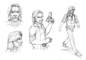Etude de personnage réaliste - Character design
